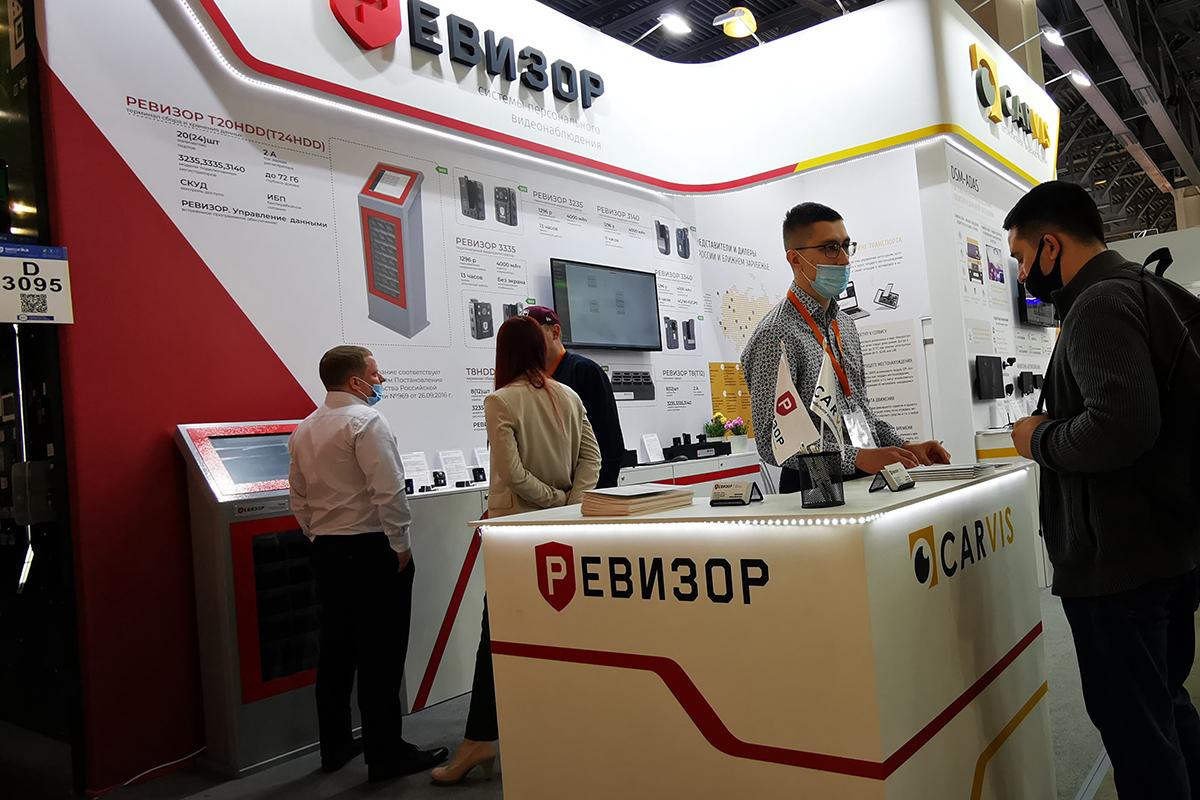 ТМ Carvis и Ревизор на международной выставке в Москве